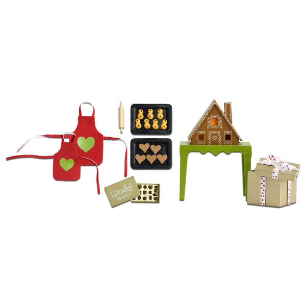 Stockholm House Gingerbread Baking Set
