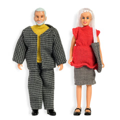 Lundby Grandma and Grandpa Doll Set - Little Citizens Boutique  - 1