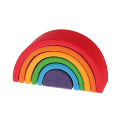 Small Wooden Rainbow - Grimm's - Little Citizens Boutique  - 1