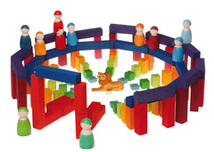 Stepped Counting Block Game STEM Toy- Grimm's - Little Citizens Boutique  - 6