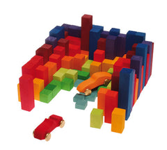 Stepped Counting Block Game STEM Toy- Grimm's - Little Citizens Boutique  - 8