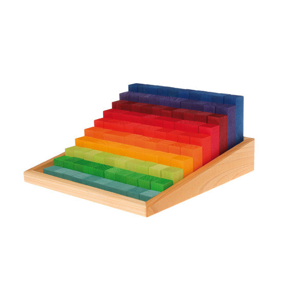 Stepped Counting Block Game STEM Toy- Grimm's