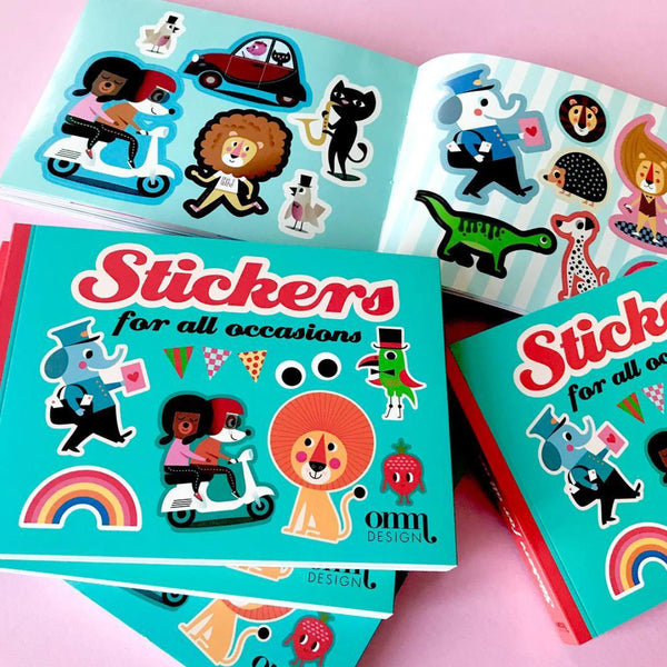 Sticker Book by Ingela Arrhenius for Omm Design