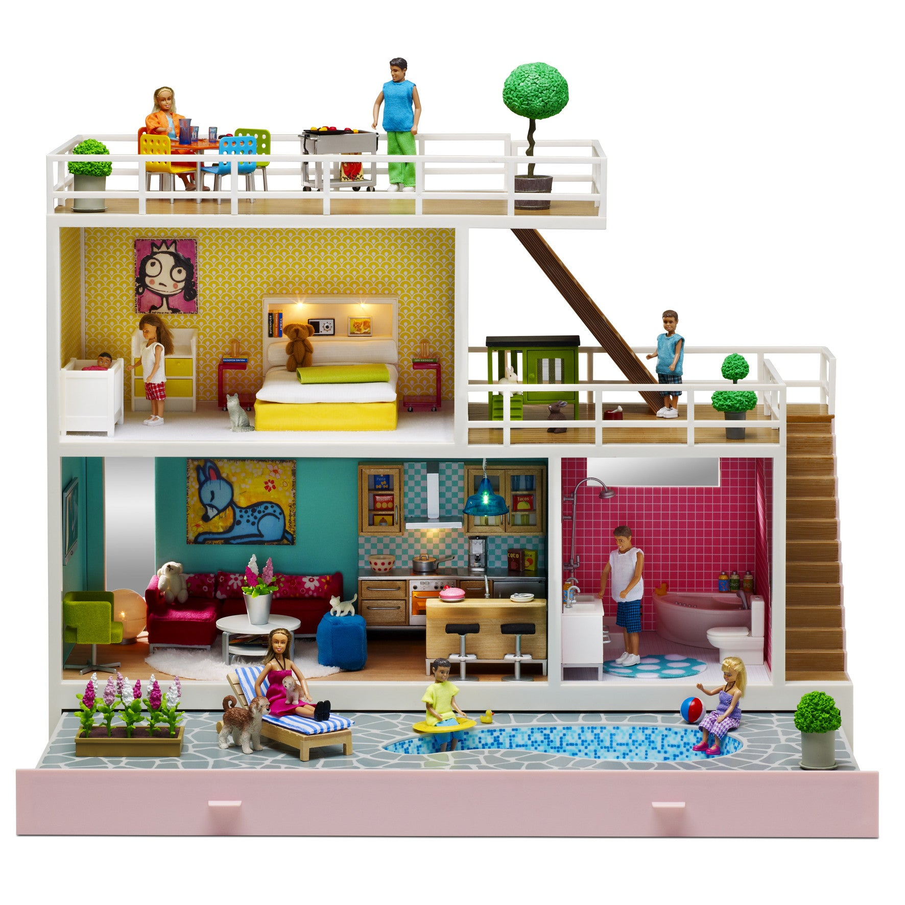 Stockholm Dollhouse - Little Citizens Boutique  - 1