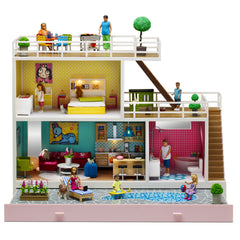 Stockholm Dollhouse - including accessories - Little Citizens Boutique  - 3