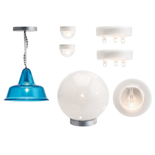 Stockholm Lamp, Electric Mix & Plug Set
