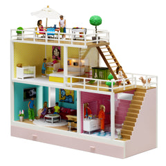 Stockholm Dollhouse - including accessories - Little Citizens Boutique  - 2