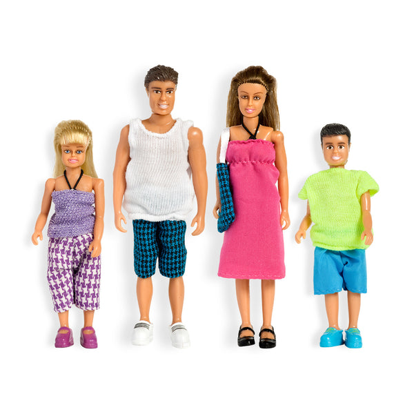 Stockholm Family Dollhouse Figures Summer Set by Lundby
