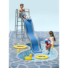 Stockholm Dollhouse Pool Set - Little Citizens Boutique  - 2