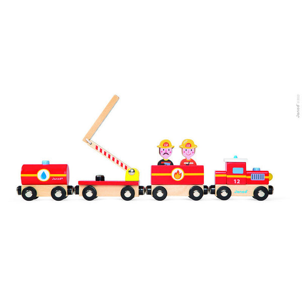 Firefighter Train - Play World by Janod