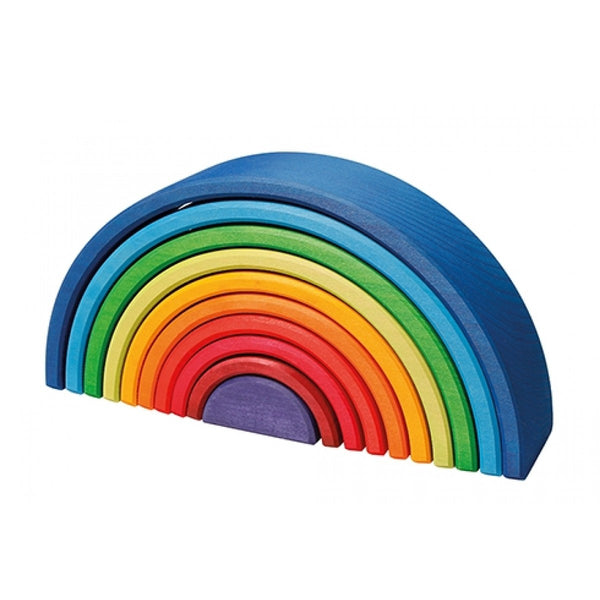 Sunset Grimm's Rainbow - 10 Piece Wooden Rainbow
