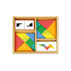 Wooden Tangram Set by Vilac - Little Citizens Boutique  - 2