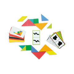 Wooden Tangram Set by Vilac - Little Citizens Boutique  - 4