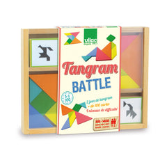 Wooden Tangram Set by Vilac - Little Citizens Boutique  - 1