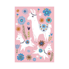Llama Family Postcard by Tara Lily - Little Citizens Boutique