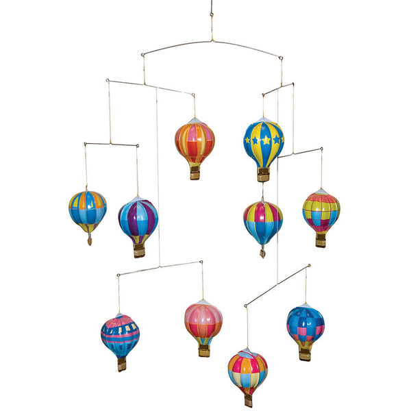 Tin Hot Air Balloon Mobile by Tobar
