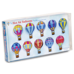 Tin Hot Air Balloon Mobile by Tobar - Little Citizens Boutique  - 3