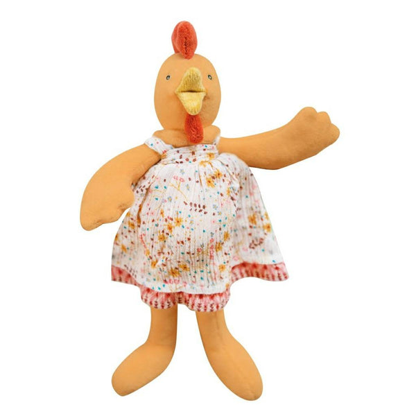Felicie the Hen Plush Toy by Moulin Roty