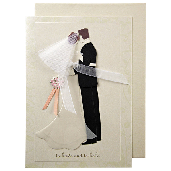 To Have and to Hold Wedding Card by Meri Meri