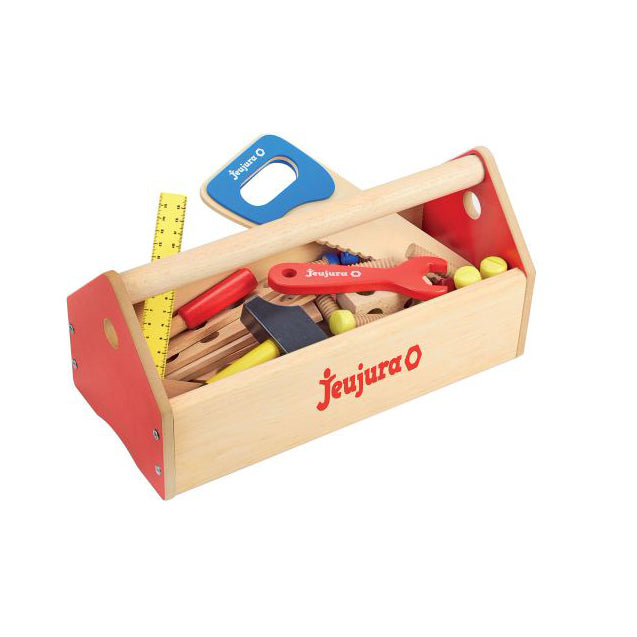 Wooden Toy Toolbox by Jeujura