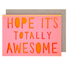 Hope it's Totally Awesome Card - Meri Meri - Little Citizens Boutique