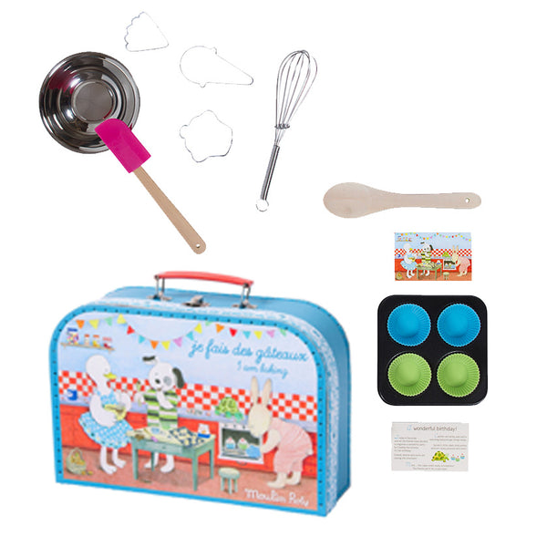 Patisserie Baking Set in Gorgeous Case by Moulin Roty