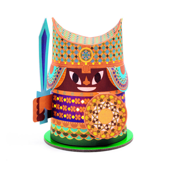 Warrior Paper Lantern / Night Light - by Djeco