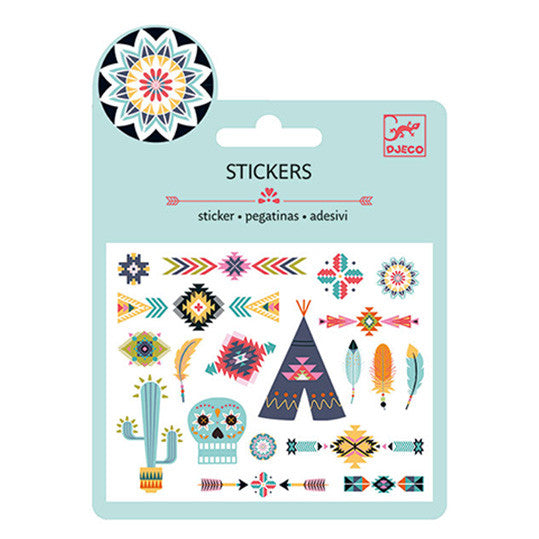 Western Style Stickers by Djeco