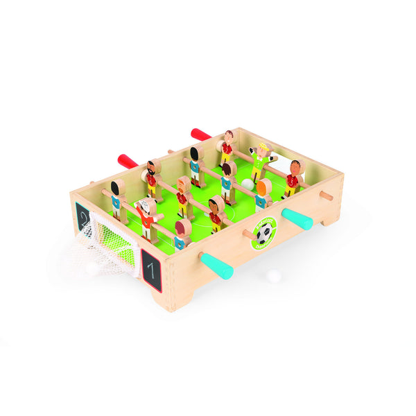 Wooden Mini Football (Foosball) table by Janod
