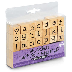 Wooden Letter Stamps by Tobar - Little Citizens Boutique  - 2