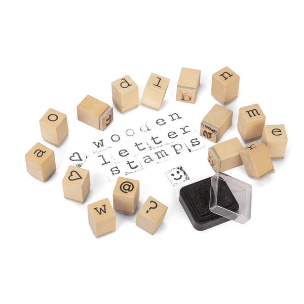 Wooden Letter Stamps by Tobar