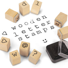 Wooden Letter Stamps by Tobar - Little Citizens Boutique  - 3