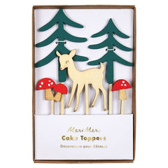 Woodland Cake Toppers  by Meri Meri