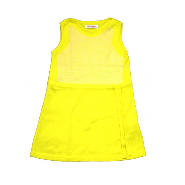 Maja Dress in Lemon Sherbert - Last one - Size 12M!