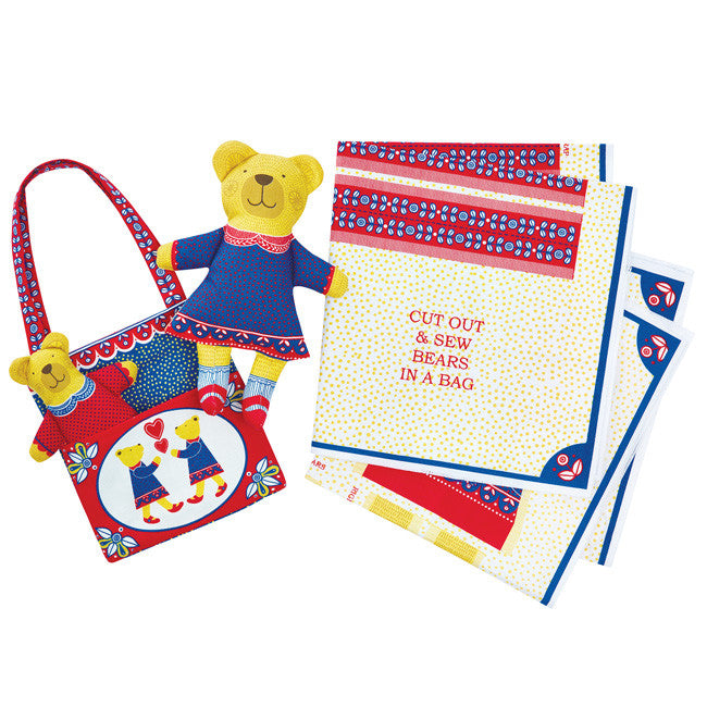 Alice Melvin Cut and Sew Bears Bag by Tate - Little Citizens Boutique  - 1