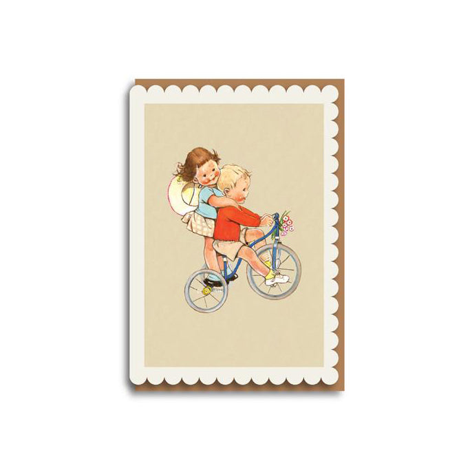 Tricycle Card by Mabel Lucie Attwell