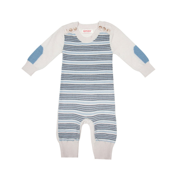 Casper Jumpsuit - Ice & Mineral Blue