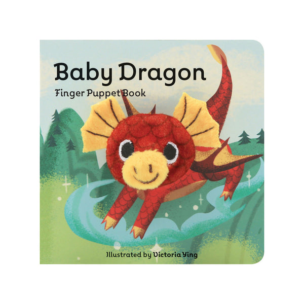 Baby Dragon Finger Puppet Book Illustrated by Victoria Ying