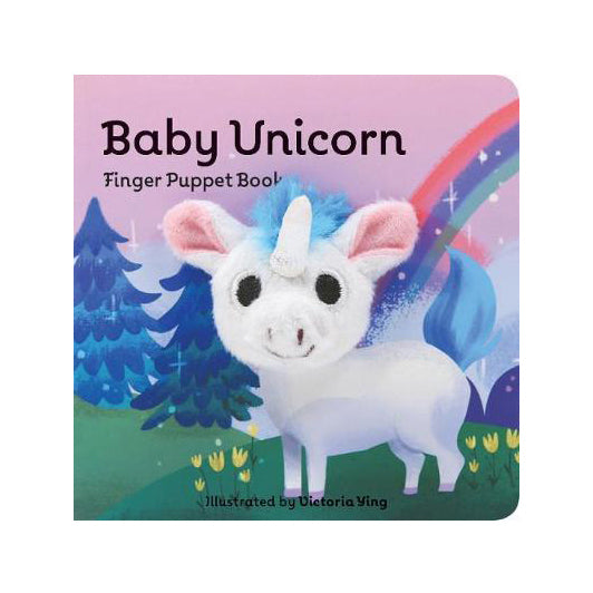 Baby Unicorn Finger Puppet Book Illustrated by Victoria Ying