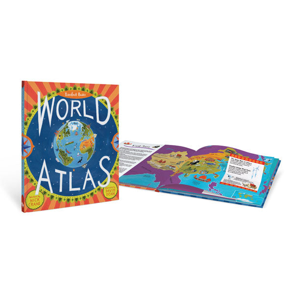 Children's World Atlas by Barefoot Books