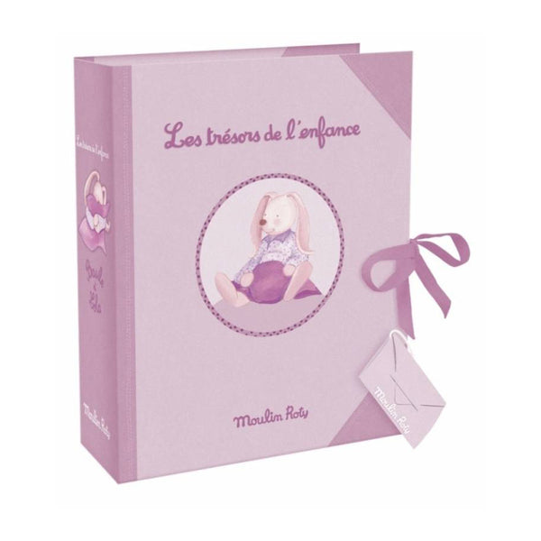 Baby Keepsake Treasure Box With Dawers - Mauve