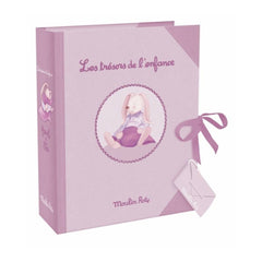 Baby Keepsake Treasure Box With Dawers - Mauve - Little Citizens Boutique  - 1