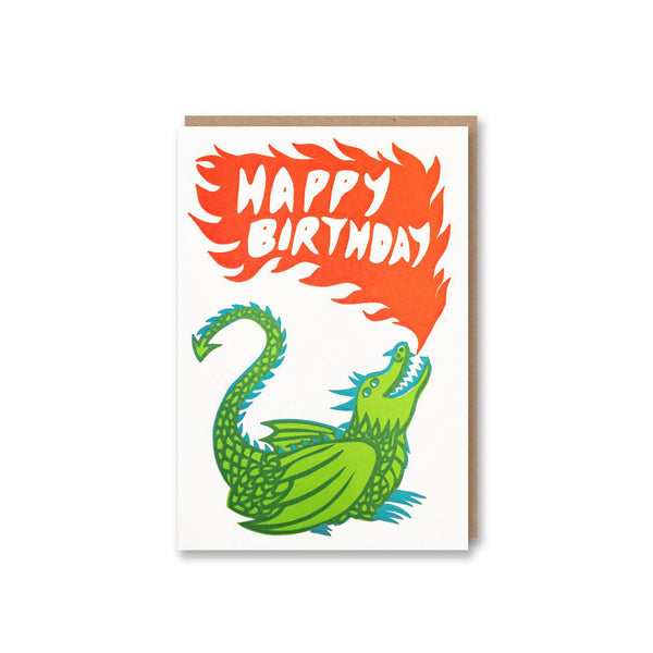 Happy Birthday Dragon Card from Sukie