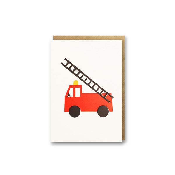 Fire Engine Card from Bits & Bobs