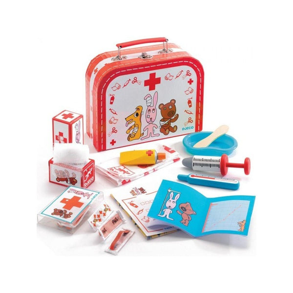 Toy Doctors Kit Bobo Doudou by Djeco