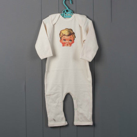 Vintage Boy Petra Boase Rompersuit