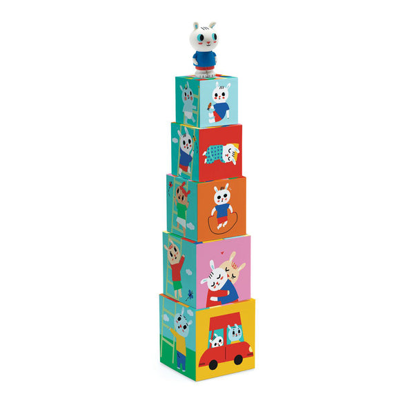 Bunny Blocs - Blocks for Infants by Djeco