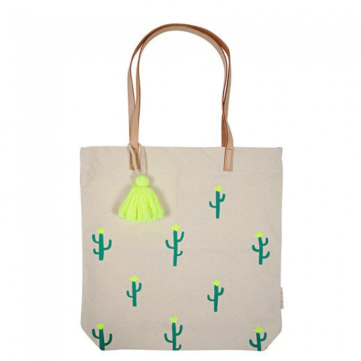 Canvas Cactus Tote by Meri Meri
