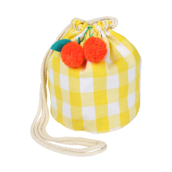Cherry Gingham Bag by Meri Meri