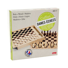 Chess and Checkers Game - Little Citizens Boutique  - 2